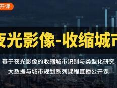 基于夜光影像的收缩城市识别与类型化研究