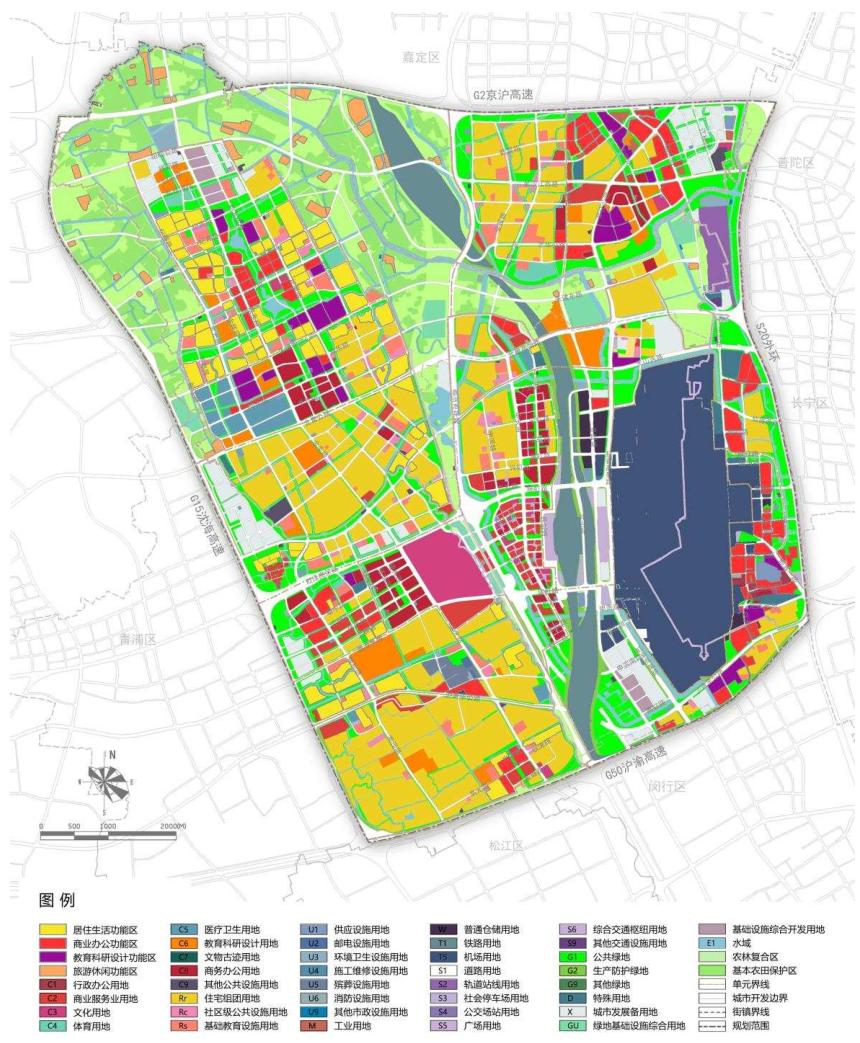 国土空间规划体系:上海市国土空间总体规划体系及各级案例分享